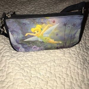 Mini Tinkerbell Sequin Purse. NWOT. Never used.